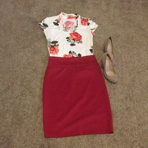 Dresses & Skirts - Subtly Sexy Skirt Outfit